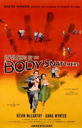 Invasion Of The Body Snatchers, Kevin McCarthy, Dana Wynter, 1956