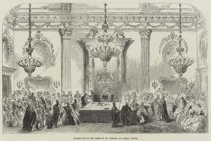 Investiture of the Order of St Patrick, at Dublin Castle