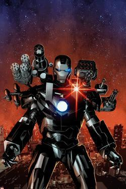 Invincible Iron Man No.6 Cover, Featuring War Machine