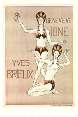 Ione Brielix Dance Poster