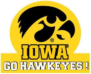 Iowa Hawkeyes Jumbo Tailgate Peel & Stick