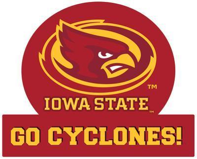 Iowa State Cyclones Jumbo Tailgate Peel & Stick