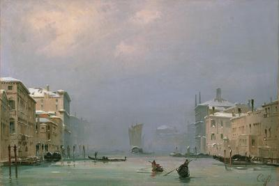 Grand Canal with Snow and Ice, 1849