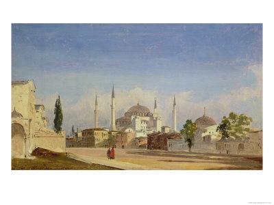 Hagia Sophia, Constantinople, 1843