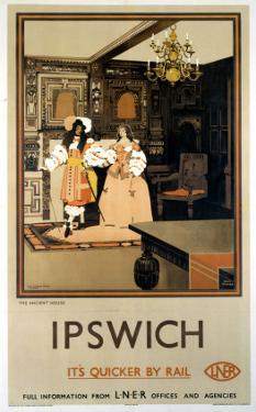 Ipswich the Ancient House LNER