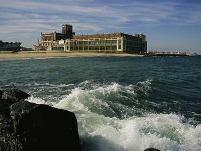 A View of the Seaside Convention Center and Casino in Asbury Park by Ira Block