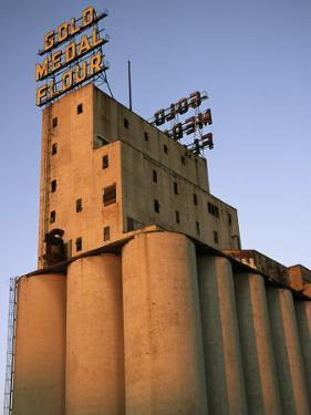A View of the Washburn Crosby a Mill Where Gold Medal Flour was Made by Ira Block