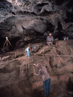 Archeologists Examine Possibly the Earliest Known Human Remains in a Cave by Ira Block