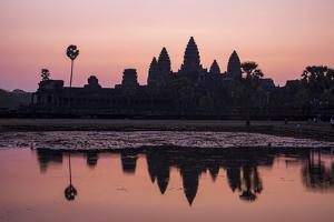 Sunrise at Angkor Wat, Siem Reap, Cambodia by Ira Block