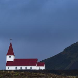 The Vik I Myrdal Church in Vik, Iceland by Ira Block