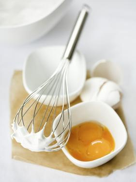 Baking Ingredients (Egg Yolk and Beaten Egg White) by Ira Leoni