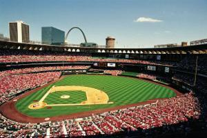 Busch Stadium, St Louis by Ira Rosen
