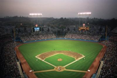 Dodger Park, Los Angeles by Ira Rosen