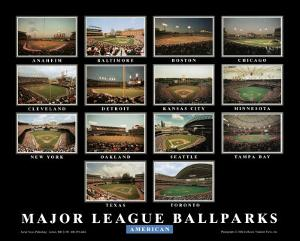 Major League Ballparks: American League by Ira Rosen