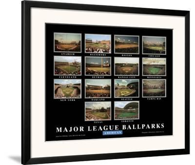Major League Ballparks: American League by Ira Rosen