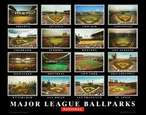 Major League Ballparks: National League by Ira Rosen