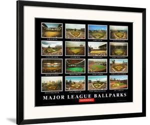 Major League Ballparks: National League by Ira Rosen