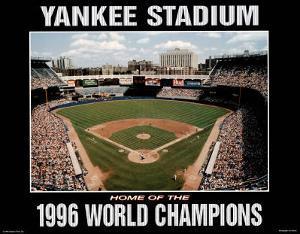 New York Yankees Yankee Stadium Home of the, c.1996 World Champions Sports by Ira Rosen
