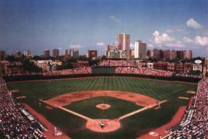 Wrigley Field, Chicago by Ira Rosen