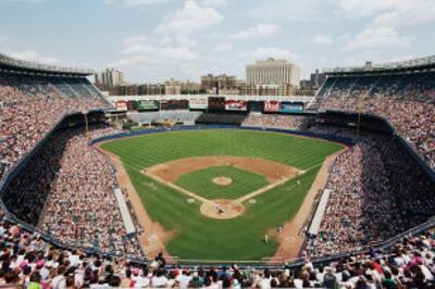 Yankee Stadium, Bronx, New York by Ira Rosen