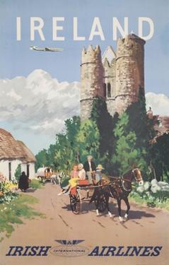 Ireland Travel Poster