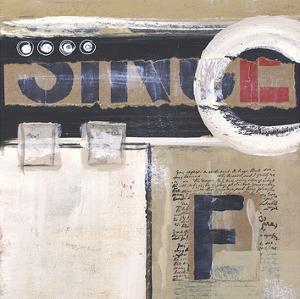 Abstract Inspiration I by Irena Orlov