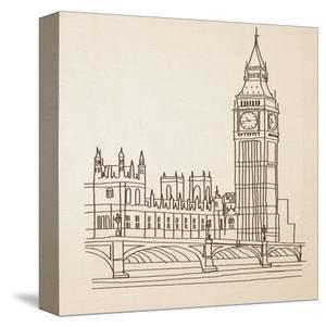 Big Ben, London by Irena Orlov