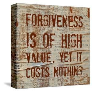 Forgiveness is of High Value by Irena Orlov
