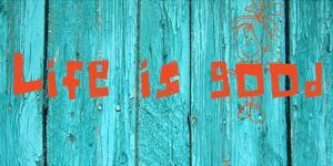 Life is good III by Irena Orlov