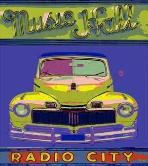 Music Hall Radio City by Irena Orlov
