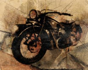Old Motorcycle by Irena Orlov