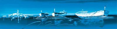 Dinghies in Blue Waters II by Irene Celic