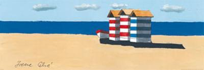 Dinghy and Shack I by Irene Celic