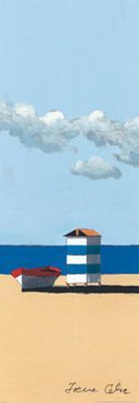 Dinghy and Shack III by Irene Celic