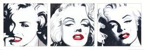 Marilyn Triptych by Irene Celic