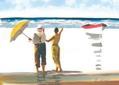 Memories on the Shore III by Irene Celic