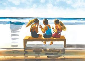Memories on the Shore V by Irene Celic