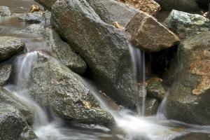 A Creek Cascading over Rocks by Irene Owsley