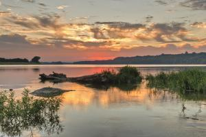 Above Seneca Breaks on the Potomac River, at Sunset by Irene Owsley