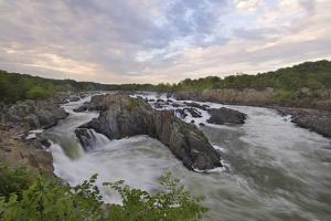 Early Summer, Great Falls of the Potomac River, from Virginia Side of the River by Irene Owsley