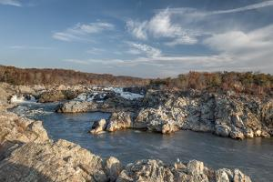 Great Falls of the Potomac River, Viewed from the Virginia Side by Irene Owsley