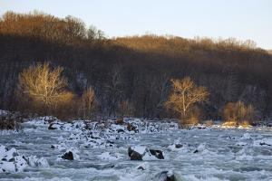 Potomac River Above Great Falls, View from the Maryland Side of the River by Irene Owsley