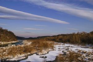 View North from the Chain Bridge of the Potomac River by Irene Owsley