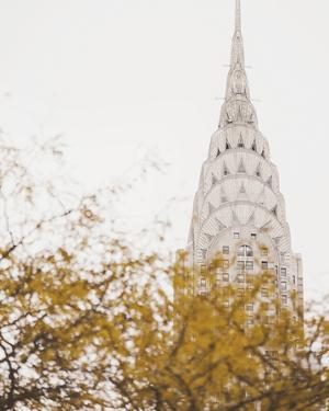 Fall in the City II by Irene Suchocki