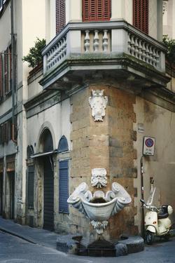 Fountain Corner by Irene Suchocki