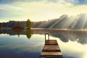 On Juniper Lake by Irene Weisz
