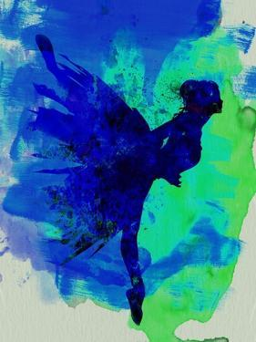 Ballerina on Stage Watercolor 2 by Irina March