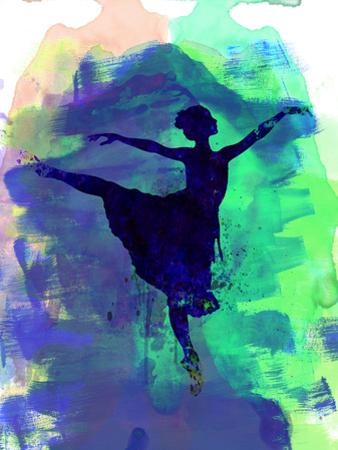 Ballerina's Dance Watercolor 2 by Irina March