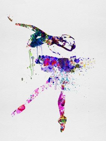 Ballerina Watercolor 2 by Irina March
