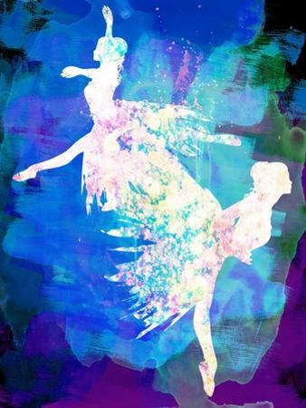 Ballet Watercolor 2 by Irina March